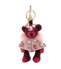 Burberry Thomas Embellished Bear Charm Red