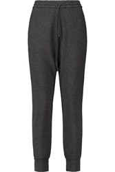 Majestic Jersey Tapered Pants Charcoal