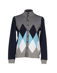 Ballantyne Knitwear Cardigans Men Grey