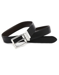 Polo Ralph Lauren Black And Brown Reversible Leather Belt