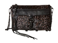 Rebecca Minkoff Mini Mac Grey Leopard Cross Body Handbags Animal Print