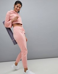 South Beach Joggers In Blush Pink