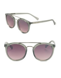 Vince Camuto 51Mm Round Sunglasses Grey