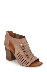 Sarto By Franco Sarto Women's Janice Cage Sandal Summer Beige Suede