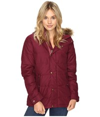 Burton Traverse Jacket Sangria Women's Coat Red
