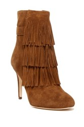Via Spiga Vesta Heel Boot Brown