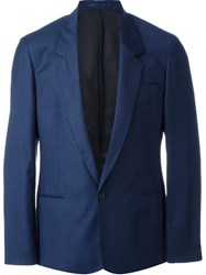 E. Tautz Single Button Jacket Blue
