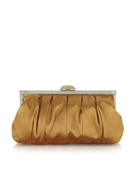 Julia Cocco' Mini Satin Clutch Bronze