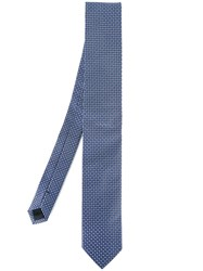 Dolce And Gabbana Patterned Tie Blue