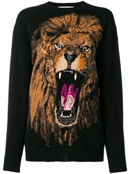 Stella Mccartney Lion Sweatshirt Black