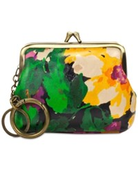 Patricia Nash Large Borse Printed Coin Purse Summer Evening Bloom