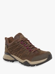 The North Face Hedgehog Hike Ii Mid Gore Tex 'S Hiking Shoes Bipartisan Brown Pamplona Purple