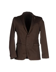 Liu Jo Jeans Suits And Jackets Blazers Men Dark Brown
