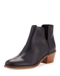 Cole Haan Abbot Grand. Os Leather Cutout Bootie Black Black Leather