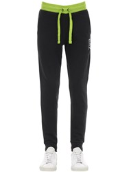 Emporio Armani Train 7 Cotton Blend Sweatpants Black