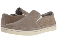 Dockers Maldives Light Taupe Perf Nubuck Men's Slip On Shoes Brown