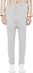 Duckie Brown Drop Rise Trousers Grey Size 30