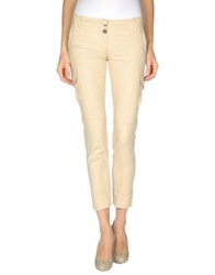 Ice Iceberg Casual Pants Beige