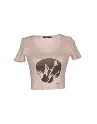 Obey Topwear T Shirts Women Dove Grey