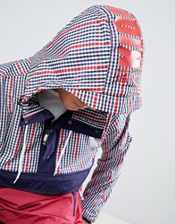 Christopher Shannon Kidda By Overhead Jacket In Red Check