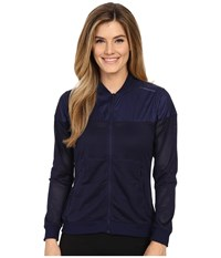 Brooks Run Thru Jacket Navy Women's Coat