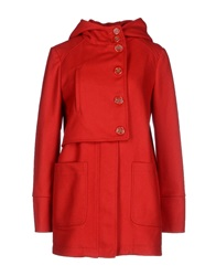 Gianfranco Ferre Gf Ferre' Coats Red