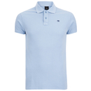 Scotch And Soda Men's Garment Dyed Polo Shirt Blue