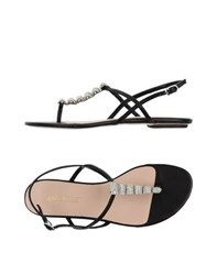 Fifth Avenue Shoe Repair Footwear Thong Sandals Women Black