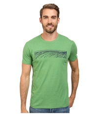 Prana Coastal Kelly Heather Men's Short Sleeve Pullover Green