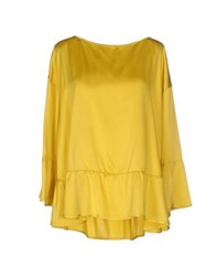 Liviana Conti Shirts Blouses Women Yellow
