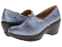 Nurse Mates Bryar Steel Women's Clog Shoes Silver