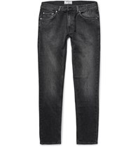 Acne Studios Ace Skinny Fit Stretch Denim Jeans Black