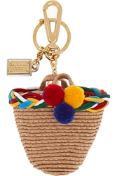 Dolce And Gabbana Basket Keychain