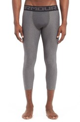 Under Armour Men's Heatgear Crop Leggings Carbon Heather