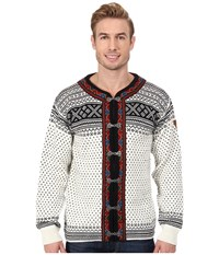 Dale Of Norway Setesdal A Off White Black Men's Sweater Multi