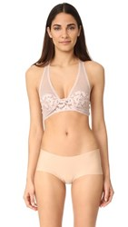 Free People Corsets Racer Bra Pink