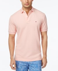 Tommy Hilfiger Men's Classic Fit Ivy Polo Cotton Can
