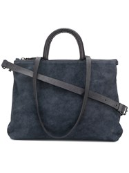 Marsell 4 Dritta 0286 Tote Bag Blue