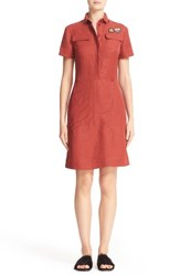 Tomas Maier Women's Toile Shirtdress