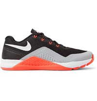 Nike Training Metcon Repper Dsx Rubber Trimmed Mesh Sneakers Black