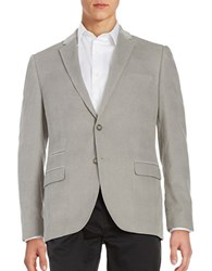Black Brown Corduroy Blazer Dusty Grey