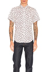 Naked And Famous S S Button Down White
