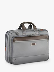 Briggs And Riley Atwork Large Expandable Brief Grey