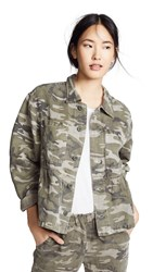 Amo Cropped Rosie Jacket Warm Grey Camo