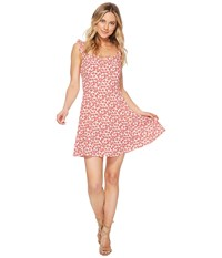 Lucy Love Falling For You Dress Pomegranet Pink