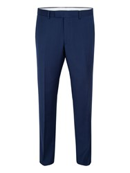 Paul Costelloe Men's City Wool Slim Fit Suit Trousers Navy