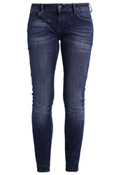 G Star Gstar 3301 Low Skinny Slim Fit Jeans Blue Dark Blue Denim