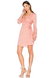 The Fifth Label Harmony Wrap Dress Pink