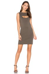 One Grey Day Oba Sweater Dress Olive