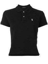 Polo Ralph Lauren Embroidered Logo Shirt Black